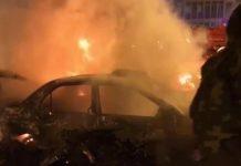 Autobomba Bengasi morti e feriti