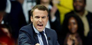 Macron banlieue