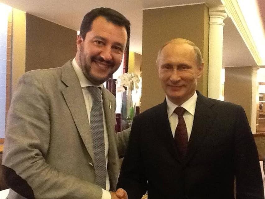 Contratto Salvini-Putin