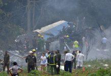 disastro aereo cuba