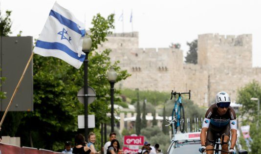 israele gerusalemme giro d'italia