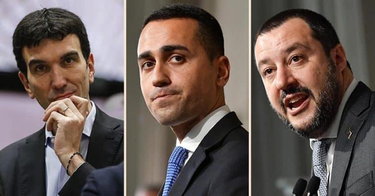 Di Maio Salvini Martina