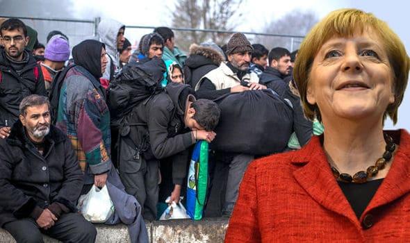"""merkel: """"italia lasciata sola sui migranti dopo il crollo della libia"""""""