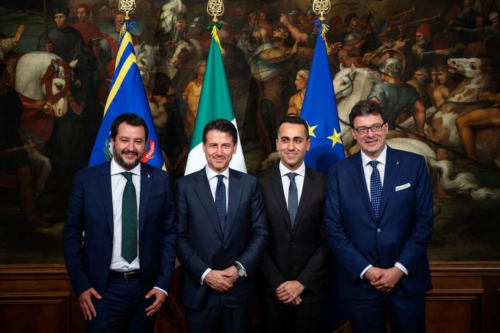 new york times governo italiano