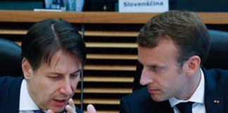 Macron Conte immigrazione