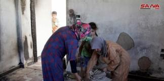 Siria 500 famiglie a casa Damasco Assad