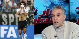 telecronista egiziano muore di infarto mondiali