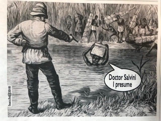 Doctor Salvini I presume