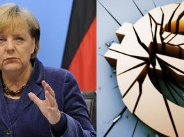 germania merkel euro