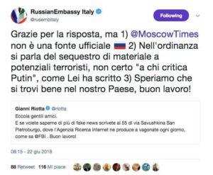 ambasciata russa riotta