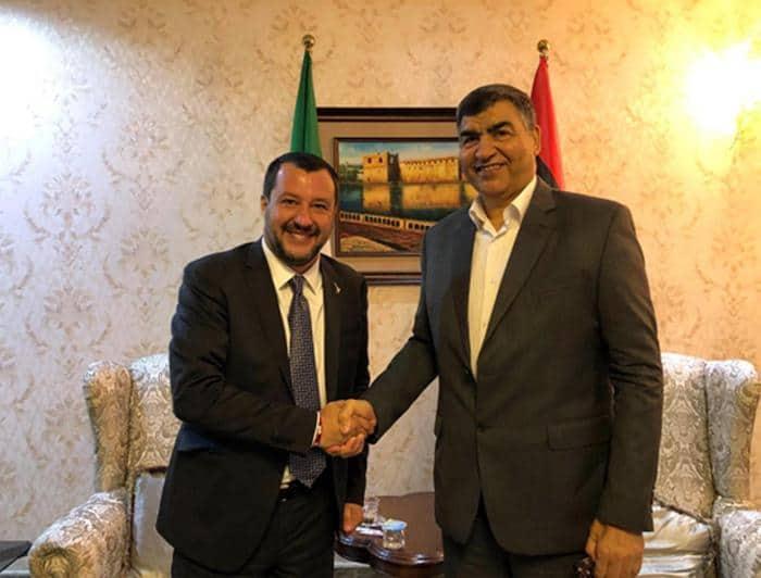 Migranti, Salvini in visita in Libia