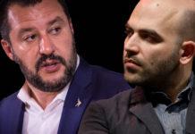 Salvini scorta Saviano