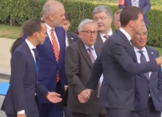 Juncker Ubriaco Nato