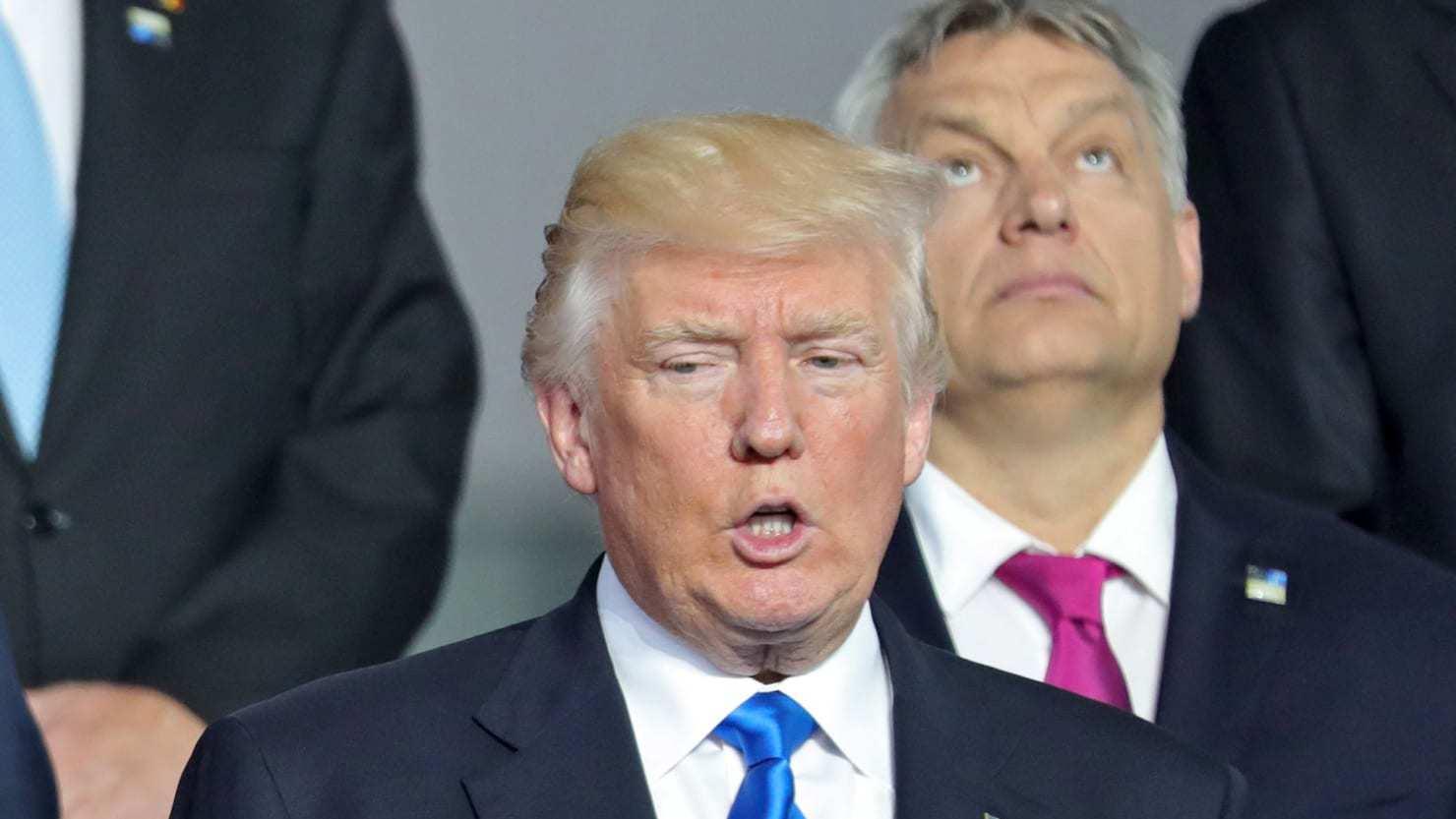 Donald Trump al vertice Nato ha già scelto il suo nemico