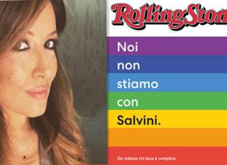 Selvaggia Lucarelli vs Rolling Stone