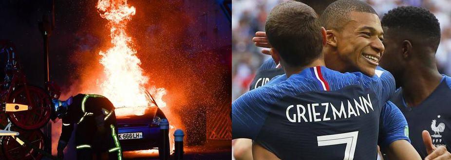nazionale francia scontri immigrati