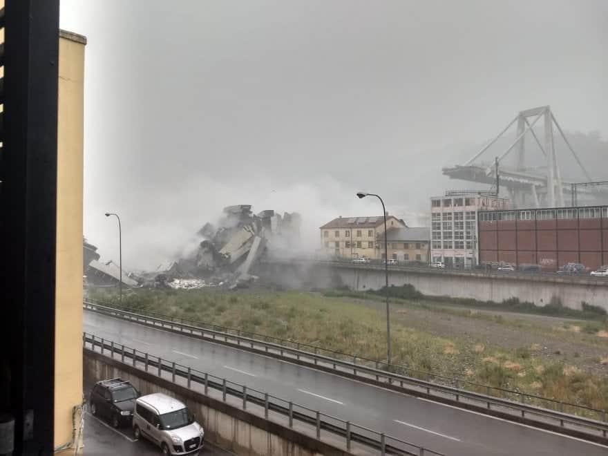 Crollo Ponte Morandi, ministro Toninelli contro Autostrade