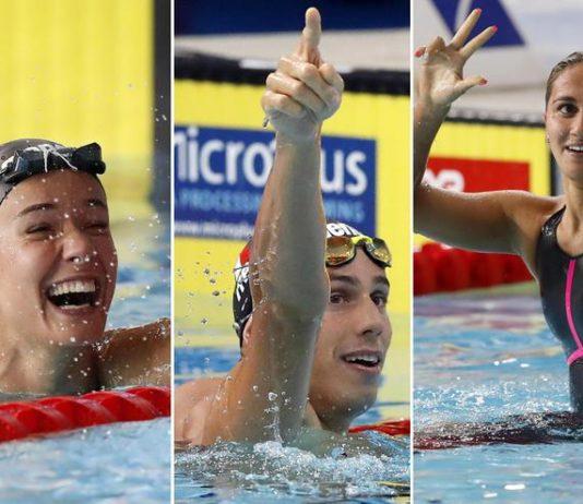medaglie europei nuoto