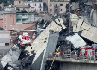 sciacalli Genova Ponte Morandi