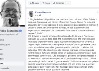 Mentana vs Soros