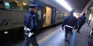 immigrato aggressione treno polfer