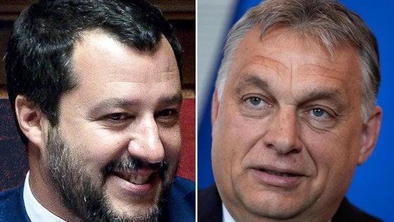 Salvini Orban