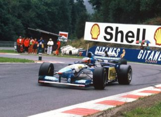 belgio 1995 schumacher