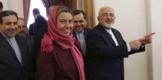 Mogherini iran sanzioni