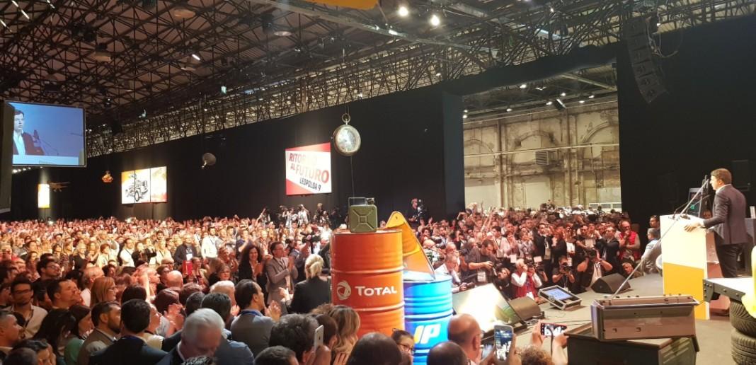 Leopolda Renzi Macron
