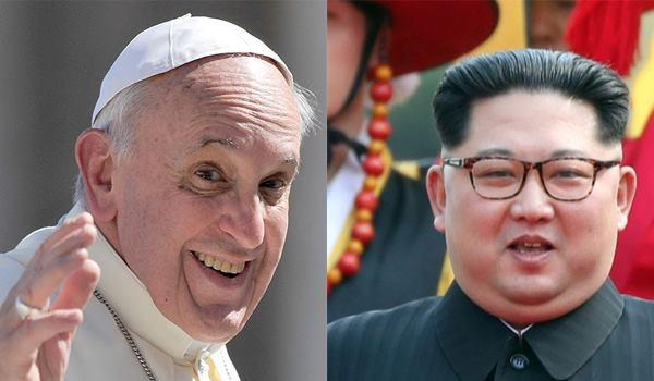 Kim invita Papa
