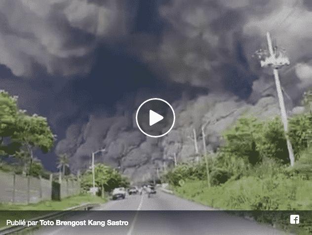 Indonesia: a Sulawesi erutta il vulcano Soputan