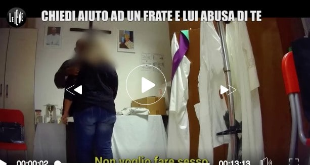 le iene Gorizia frate abuso donna