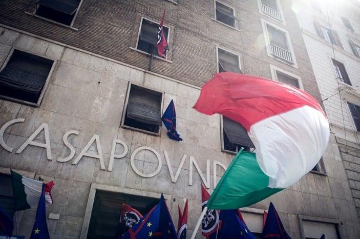 CasaPound sede via Napoleone III