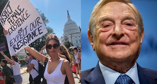 Soros femministe anti-Trump WSJ