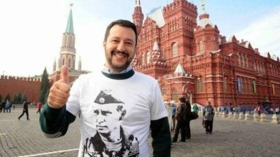 Salvini oggi a Mosca, in viaggio