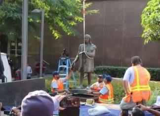 Los Angeles statua Cristoforo Colombo