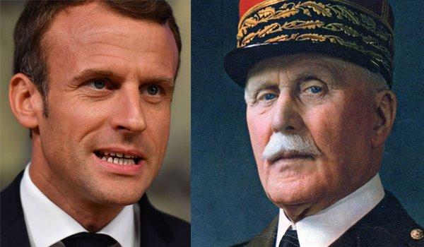 Macron rivaluta Pétain
