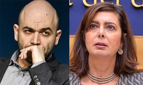 Boldrini Saviano Dl Salvini