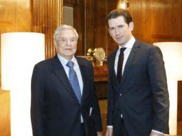 Kurz incontra Soros