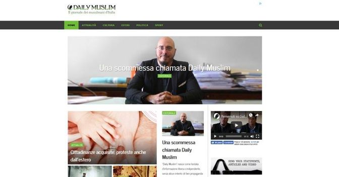 daily muslim home page