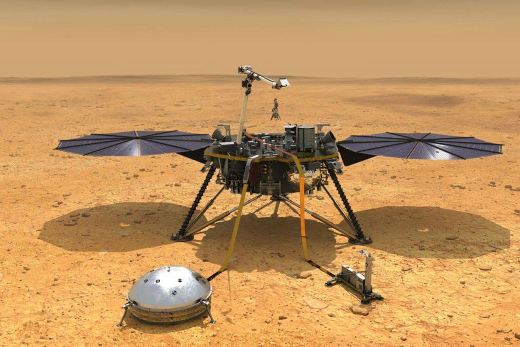 atterraggio Insight Marte
