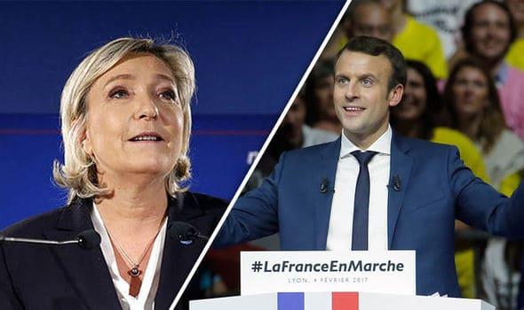Le Pen sondaggi Macron