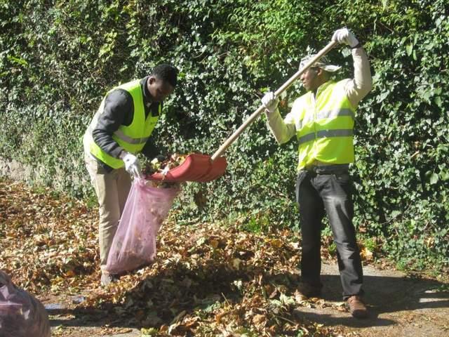 immigrati manutenzione verde pubblico
