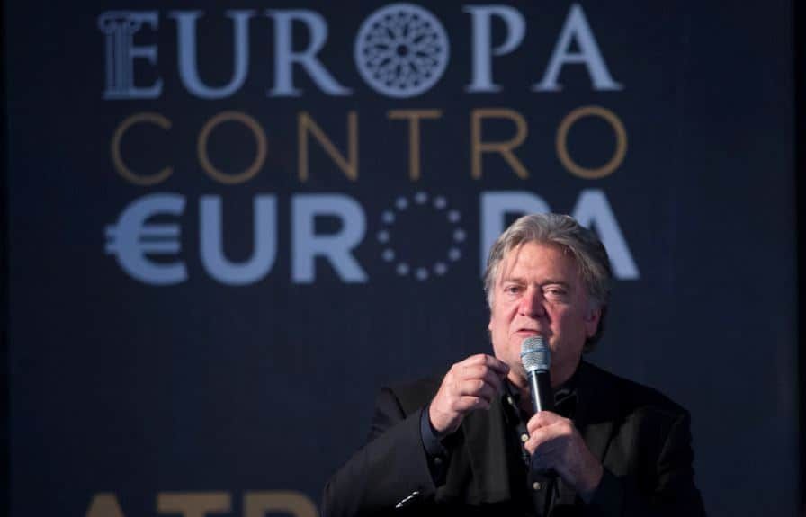 Bannon Soros sovranista movement europee