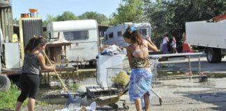campo rom foggia