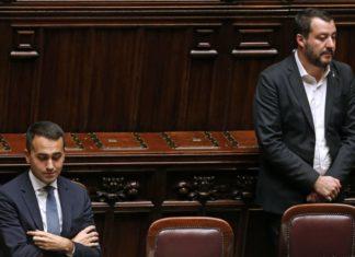 Il vicepremier Di Maio e il vicepremier Salvini