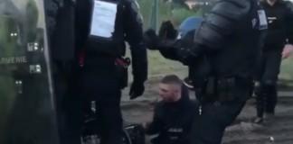 gilet gialli disabile polizia