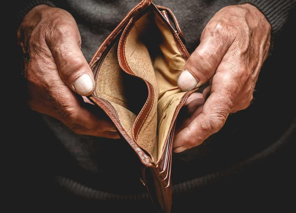 rischio povertà