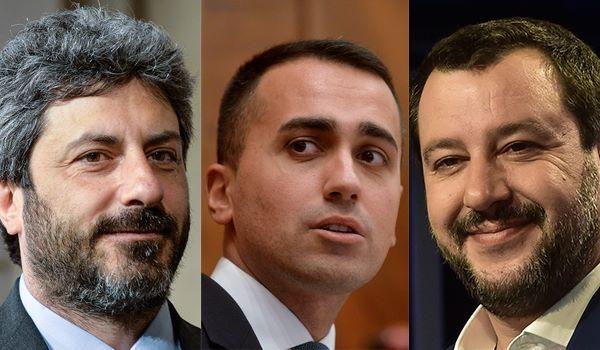 Di Maio vs. Fico Salvini