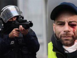 gilet gialli repressione feriti gravi Francia